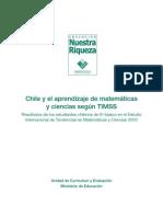 Resultados TIMSS 2003