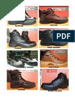 Sepatu Trekking Produksi Bandung