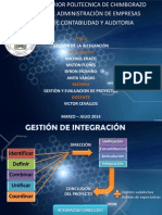 Gestion de La Integraciòn