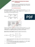 47__aplicaciones de Máximos y Mínimos de Funciones de Dos Variables