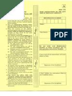IIT JAM Physics 2010 Paper