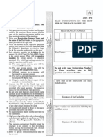 IIT JAM Physics 2013 Paper