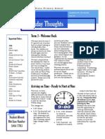 Newsletter 17-07-2014