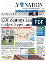 Daily Nation July 17th 2014