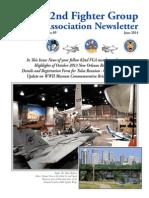 82nd Fighter Group Newsletter #89, June 2014