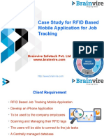 Case Study for RFID Based Mobile Application for Job Tracking