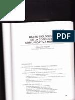 Bases Biológicas de La Conducta Comunicativa Humana