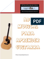 ABC Musical Para Aprender Guitarra - JPR504