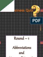 Business Quiz Dt 4 Oct 13