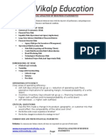 Financial Analysis of Business Statements