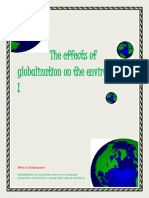 The Effects of Globalization on the Environment