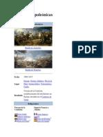 Guerras Napoleónicas Y EGIPGIAS