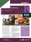 Eco EfficiencyFactSheet Cafe