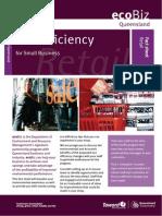Eco EfficiencyFactSheet Retail