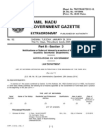 Tamil Nadu Government - Notaries - 2014