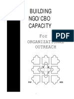 Building NGO/CBO Capacity for Organizational Outreach - Part 1 Concepts and Strategies