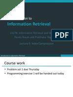Lecture5 Compression