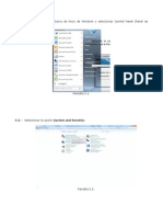 Instructivo Para La Creación de ODBC