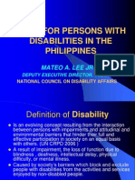 Laws of Pwds