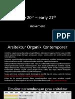 Architecture Movement Organic Contemporary Design