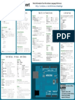 Arduino Cheat Sheet