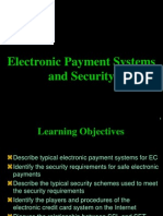 Electronic Payment Systems and Security