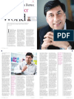 Creating a Better Healthier World - Interview with Rakesh Kapoor (CEO, RB)