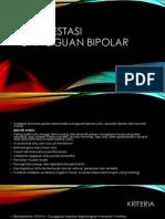 Manifestasi Gangguan Bipolar