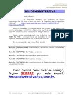 70 Questões FCC Comentada Portugues