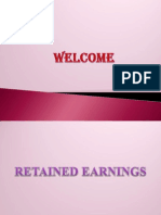 Anu Retained Earnings