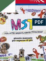 MST - Malattie sessualmente trasmesse - Piccolo Manuale - Provincia di Roma