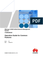 Huawei iManager U2000 Operation Guide for Common Features(V100R009)