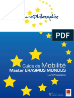 Guide de mobilité EuroPhilosophie_version 2014