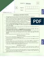 IIT JAm 2014 Paper - Mathematical Statistics