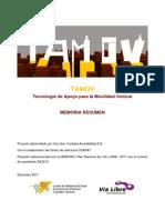 Memoria TAMOV