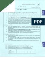 IIT JAm 2014 Paper - Biological Sciences