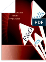 Derivative Report 17 July 2014