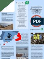 [Tríptico] Explotaciones petrolíferas en el mar