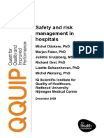 Safety and Risk Management in Hospitals