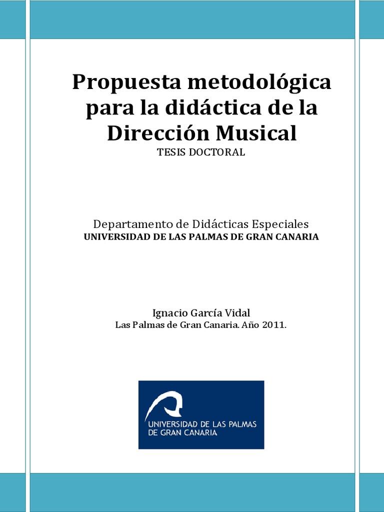 TESIS DOCTORAL IGNACIO GARCIA VIDAL Propuesta Metodologica Para La ...