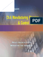 6.Manufacturing Planning & Control Process