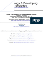 indian+psychlogy+and+international+context