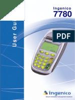 Ingenico 6780 User Guide