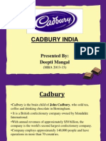 cadbury ppt