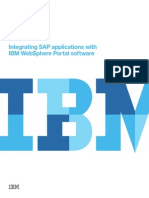 Integrating SAP applications with IBM WebSphere Portal software