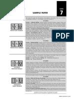 SOF Sample Paper Class 7