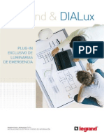 PlugIn DIALux Legrand