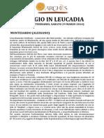 Itinerario Alessano, Macurano, Tiggiano, Specchia (1)
