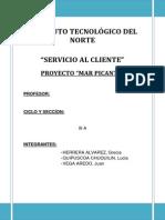 Proyecto Servicio l Cliente Mar Picante Final