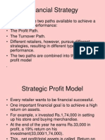 Financial Strategy in Retai